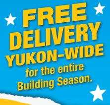 free delivery Yukon wide